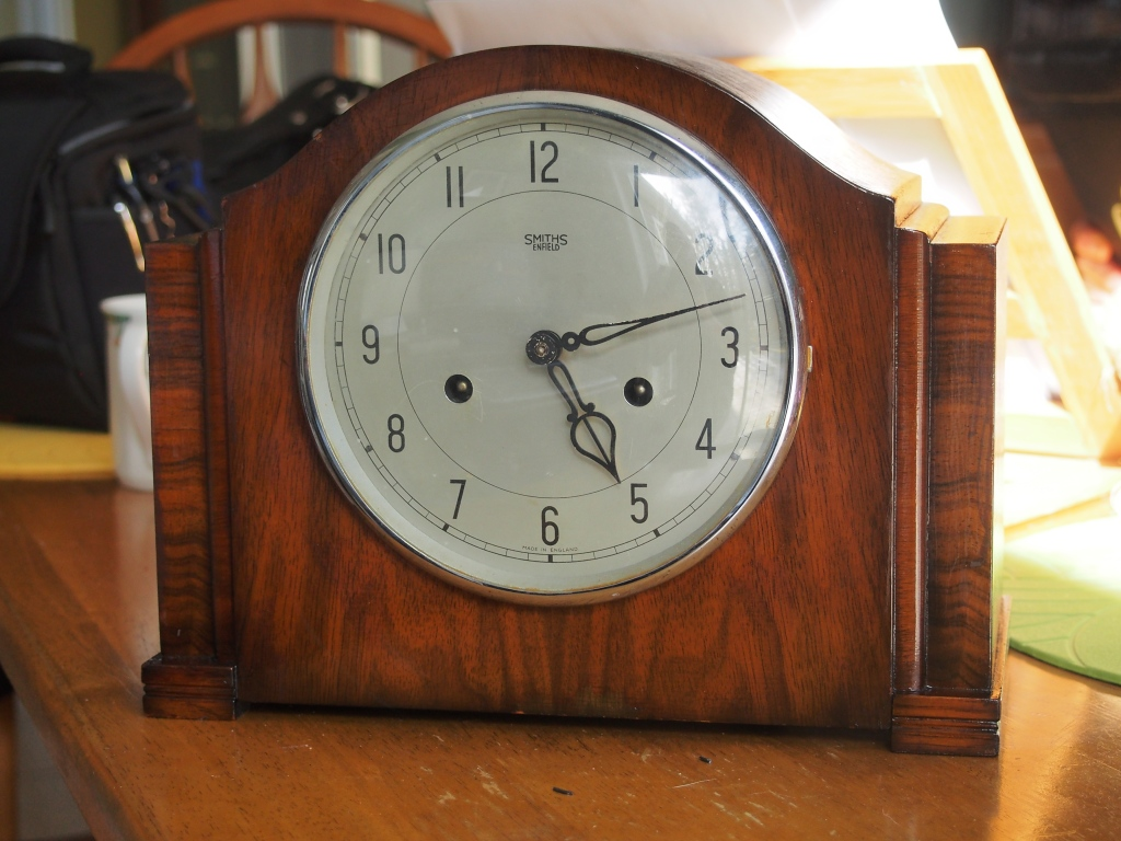 Smiths Enfield mantel clock