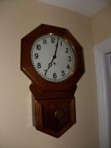Arthur Pequegnat Brandon wall clock