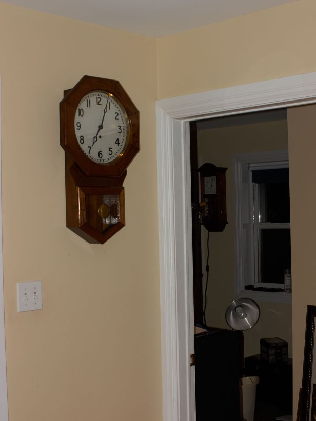 Schoolhouse clock