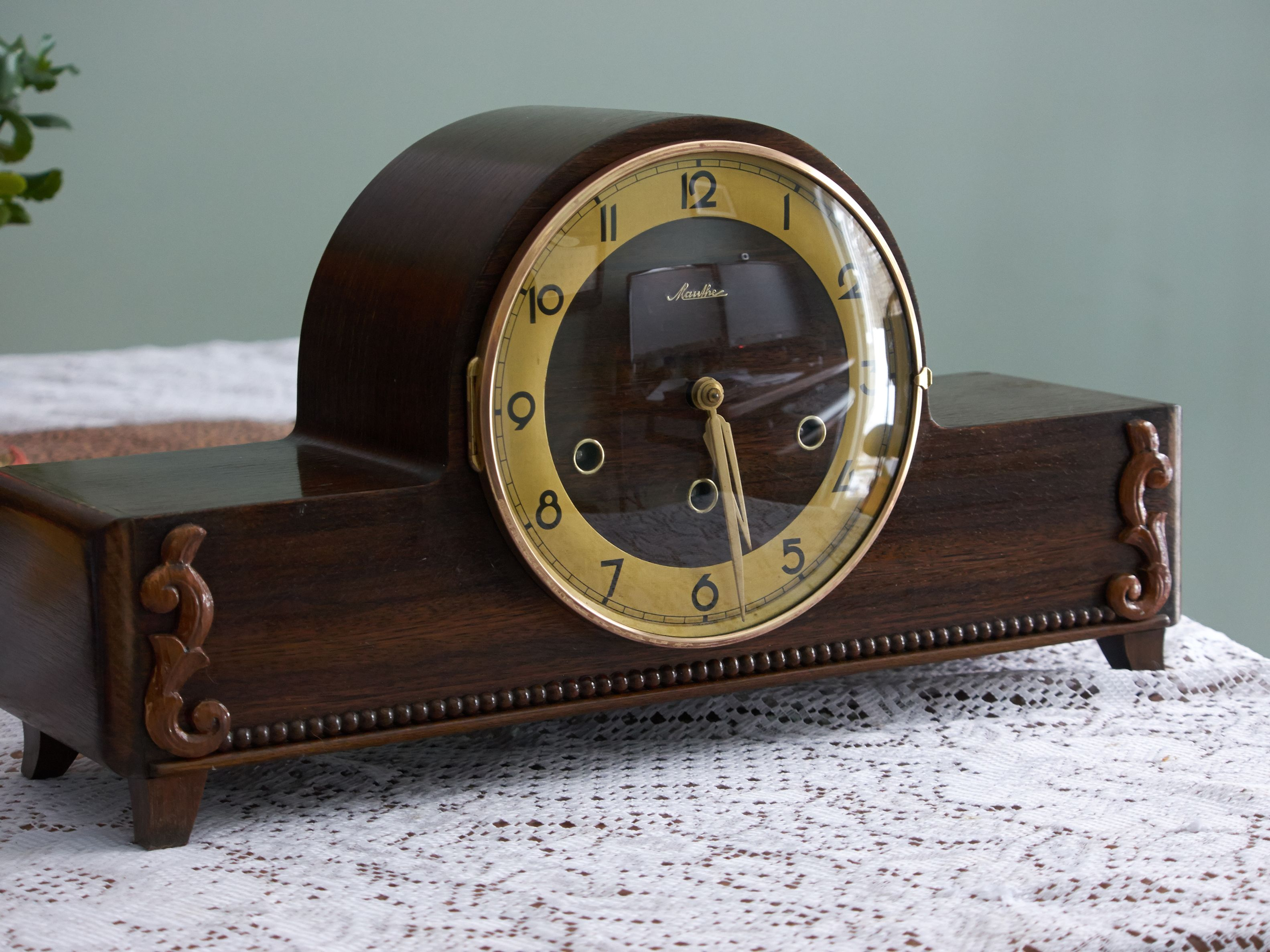 rs mauthe mantle clock 30 - Mantel Clock