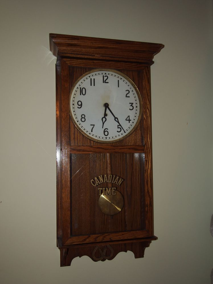 Canadian time clock
