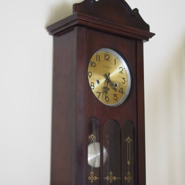 Daniel Dakota wall clock, one of Tempus Fugits more popular models