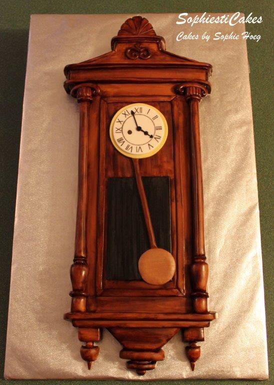 Gustav Becker 2-weight regulator wall clock – Antique and ...