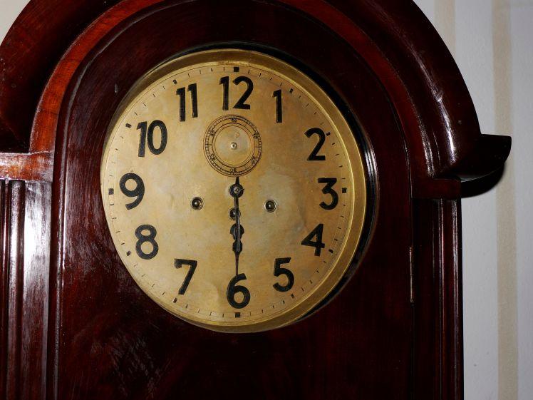 face of clock