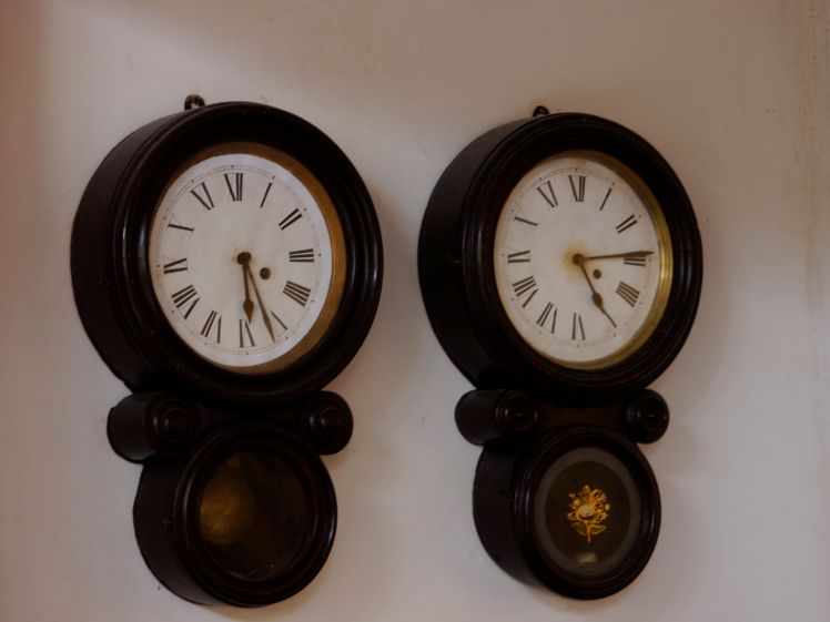 Lobby clocks