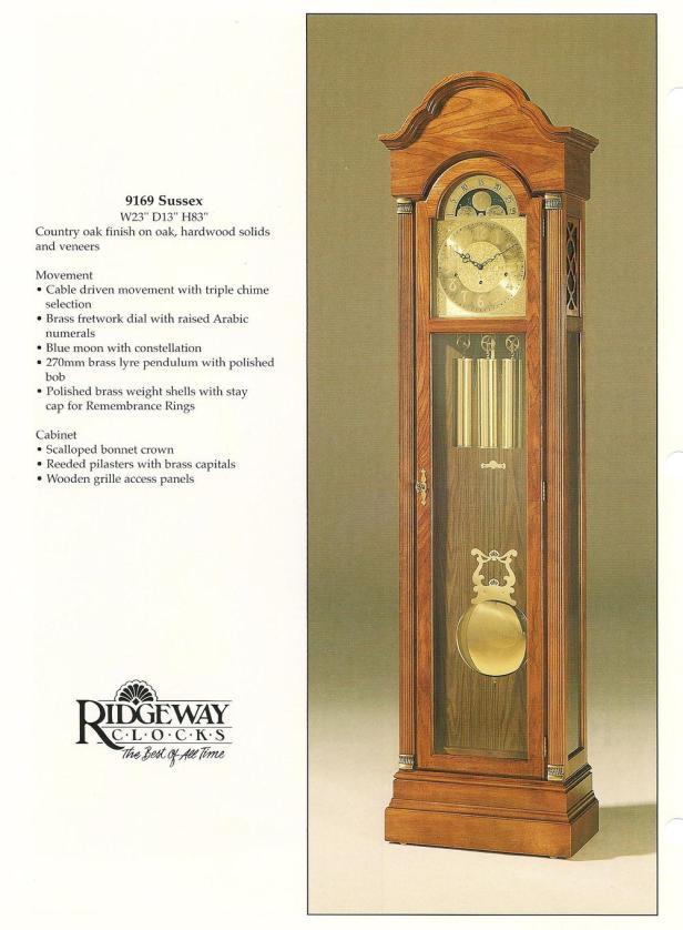 howard miller grandfather clock repair manual