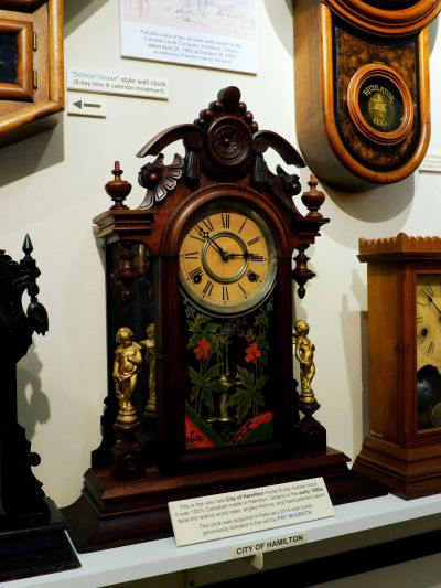 RS City of Hamilton Canada Clock Co