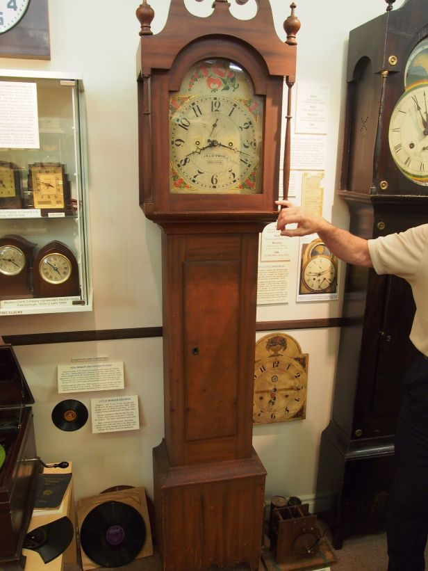 Twiss long case clock