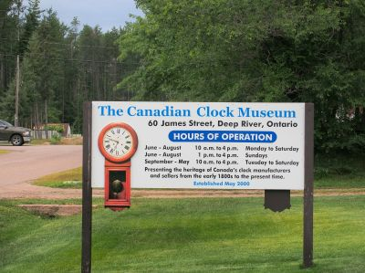 Canadian Clock Museum, Deep River Ontario