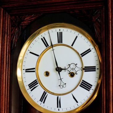 Gustav Becker 2 weight clock