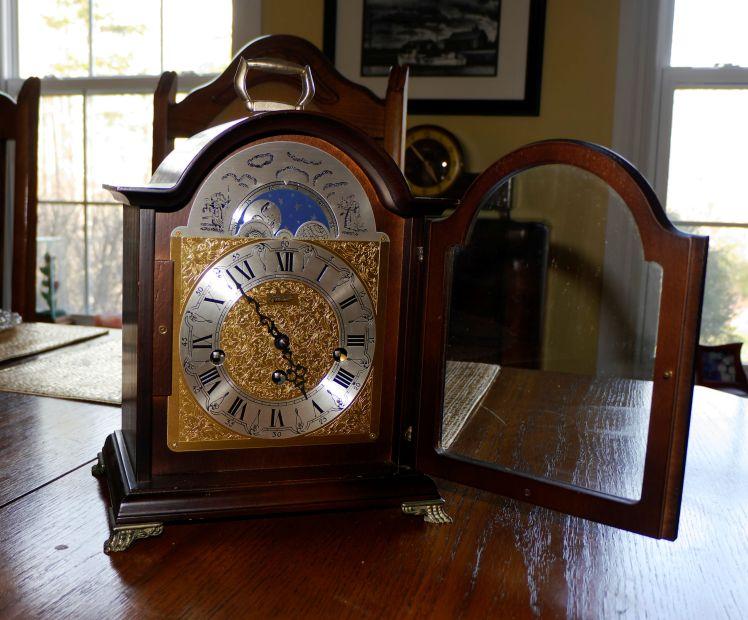 RS Hermle bracket clock (4)