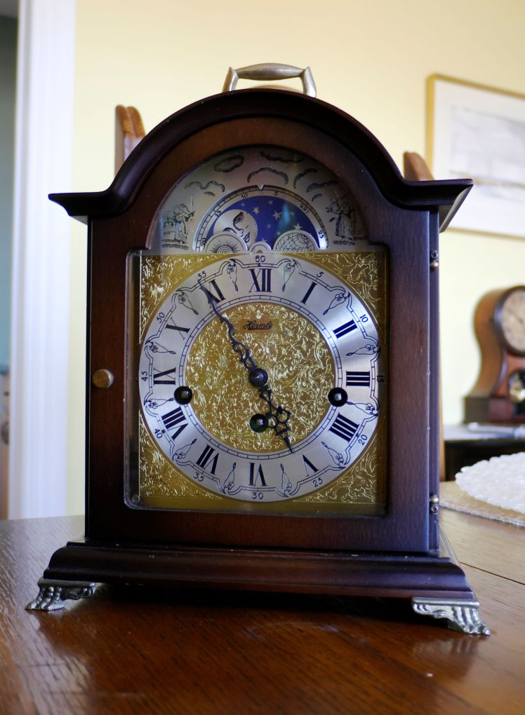 RS Hermle bracket clock (9)