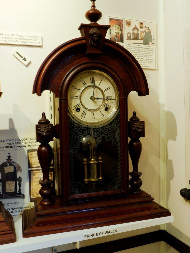 Canada Clock Company, Prince of Wales parlour clock