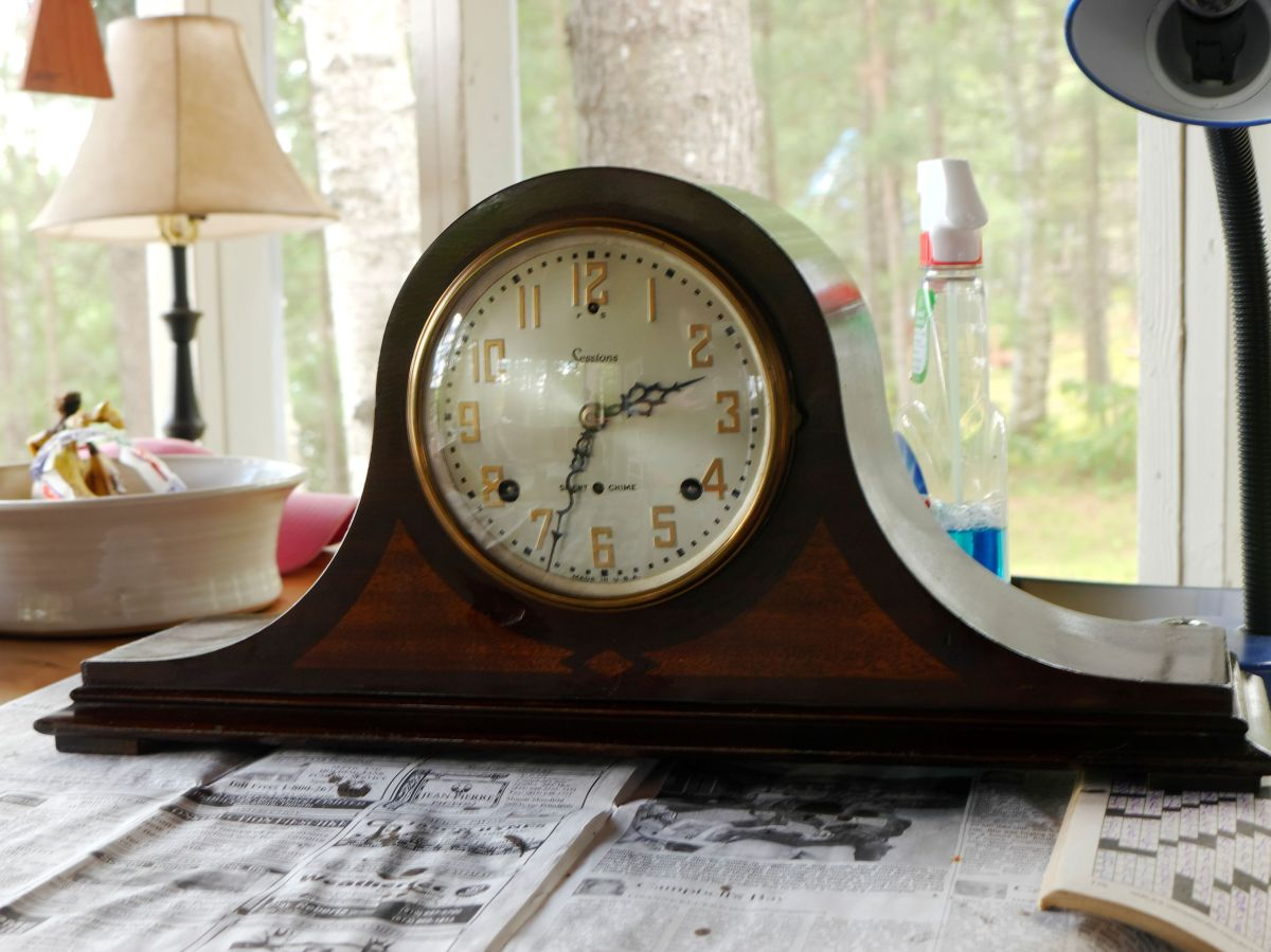 Sessions Westminster A Mantel Clock Part Ii Dis Assembly