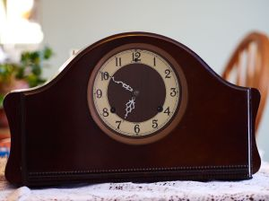 Ingersoll-Waterbury mantel clock