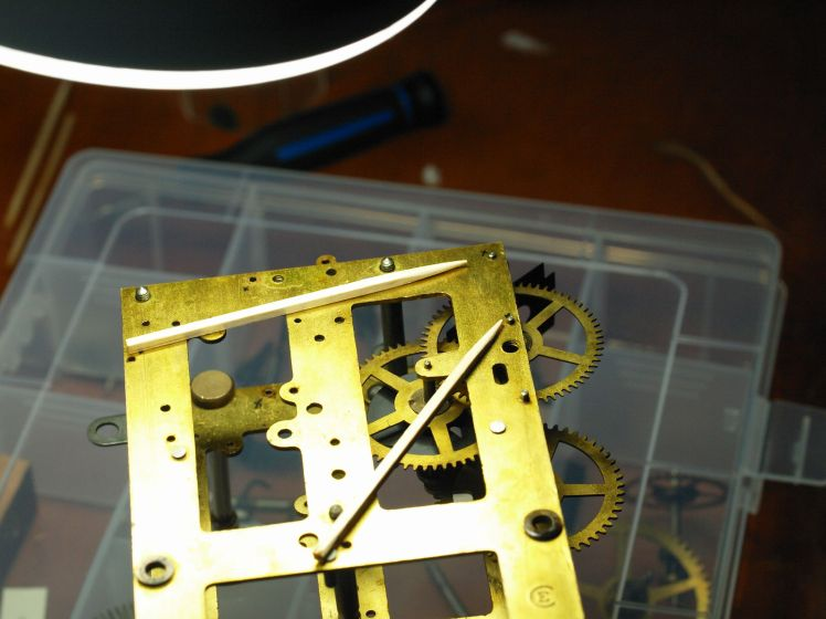 indicating wjehere bushings will be installed