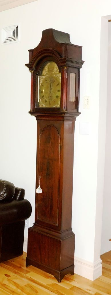 Hugh Gordon tall-case clock circa 1760