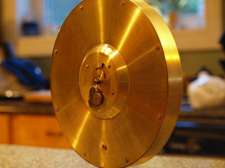 Back of Kienzle clock