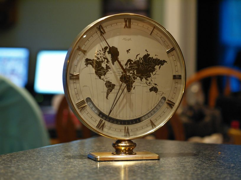Kienzle World Time clock