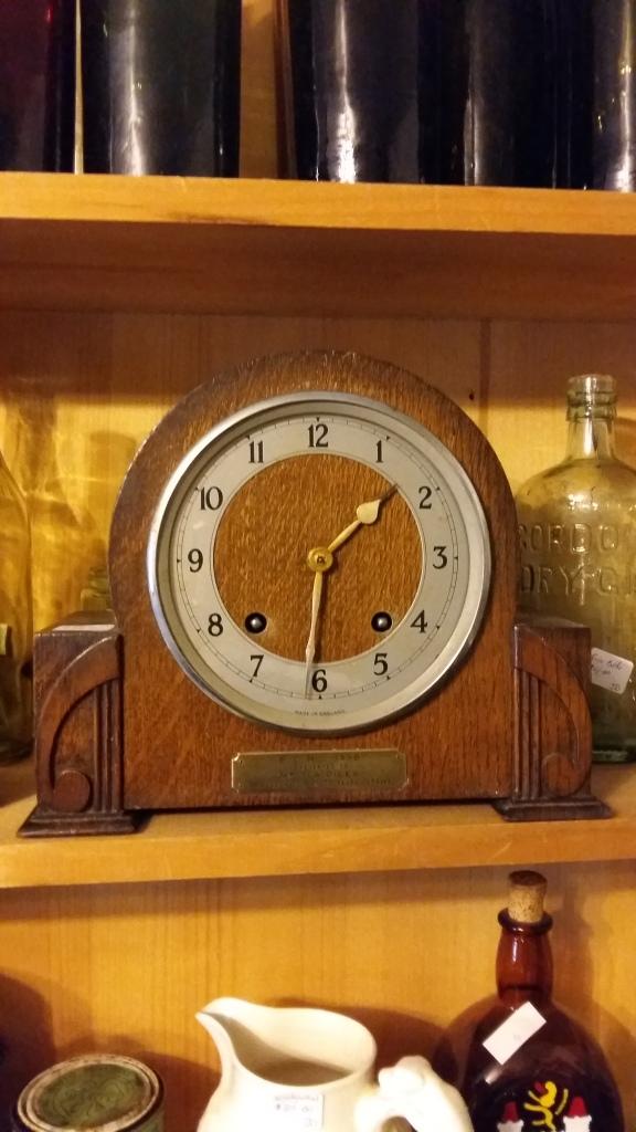 Garrard mantel clock