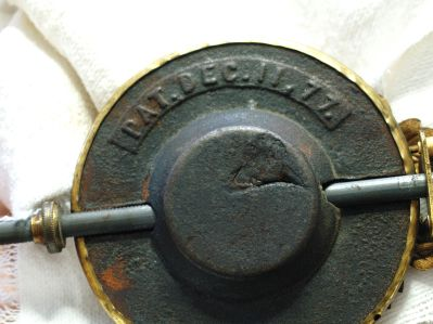 Patent date 1877