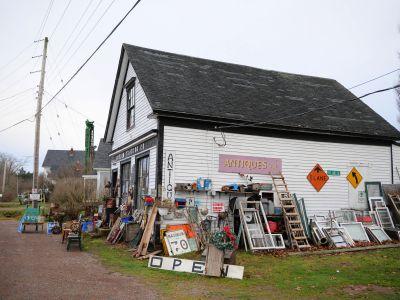Rural Nova Scotia antique shop