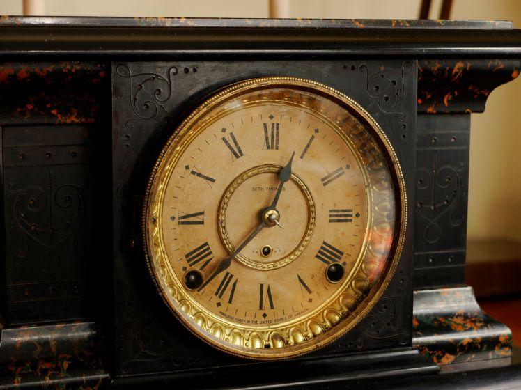 Seth Thomas clock face