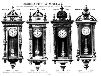 Four Junghans clocks
