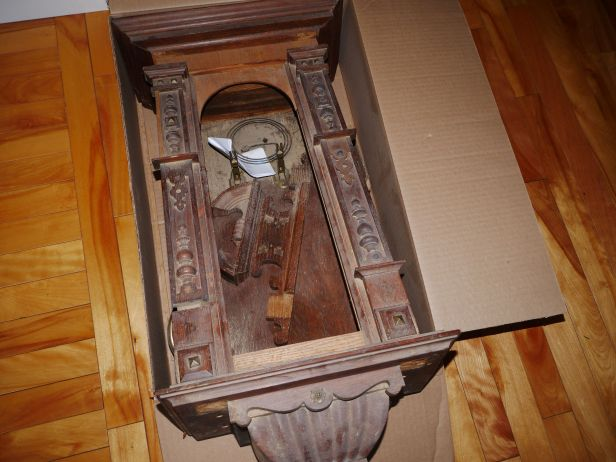 A clock in a box, how it came to me originally
