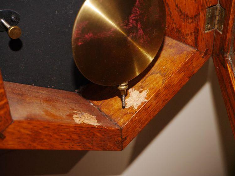 Jauch pendulum adjustment