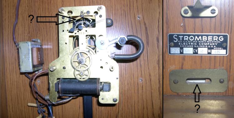 Stromberg Carlson master clock