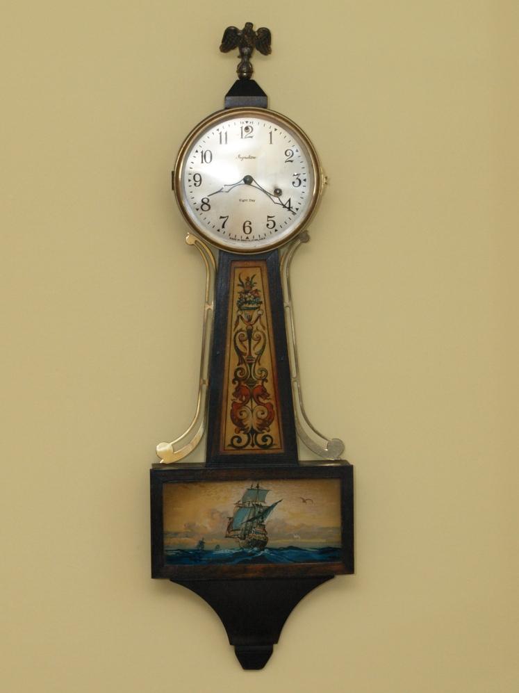 Ingraham Nordic Banjo Clock