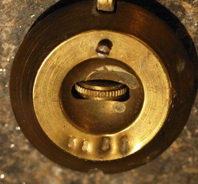 French clock pendulum