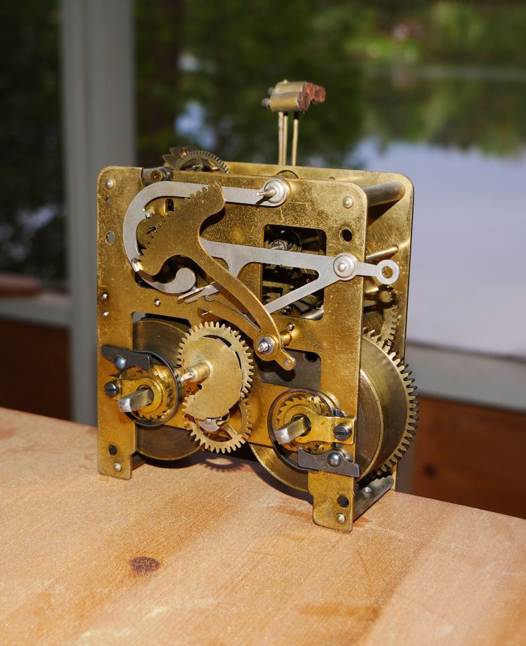 Mauthe movement front plate