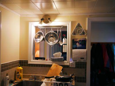 Forestville on display in kitchen