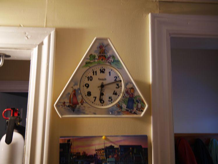Delft Clock from Forestville