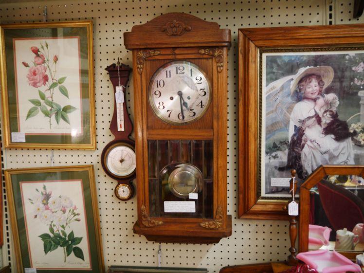 $299 Mauthe wall clock