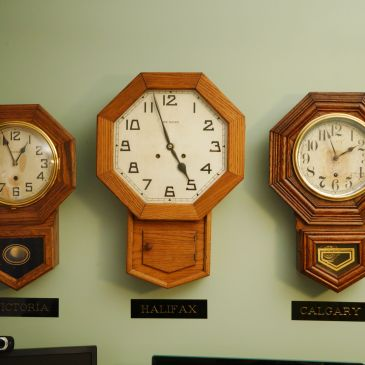 Trio of clocks