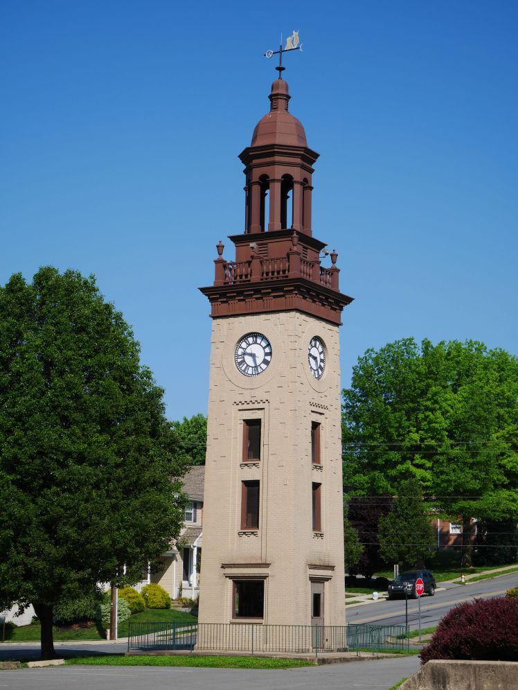 Clock tower, NAWCC Museum