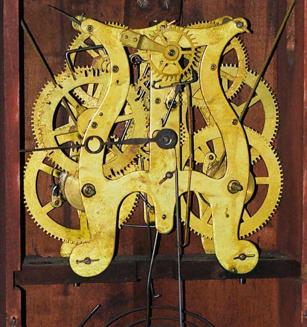 Brass lyre movment
