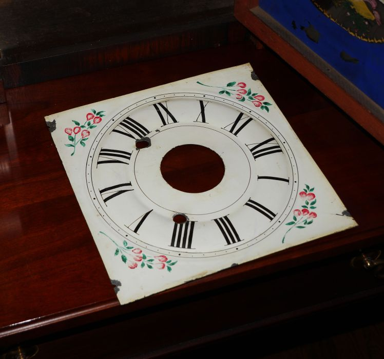Painted tine dial face