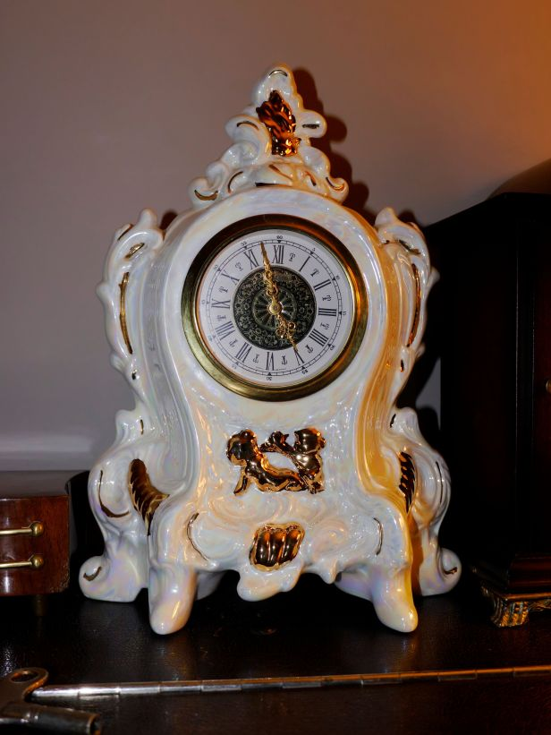 Attractive Porcelain clock