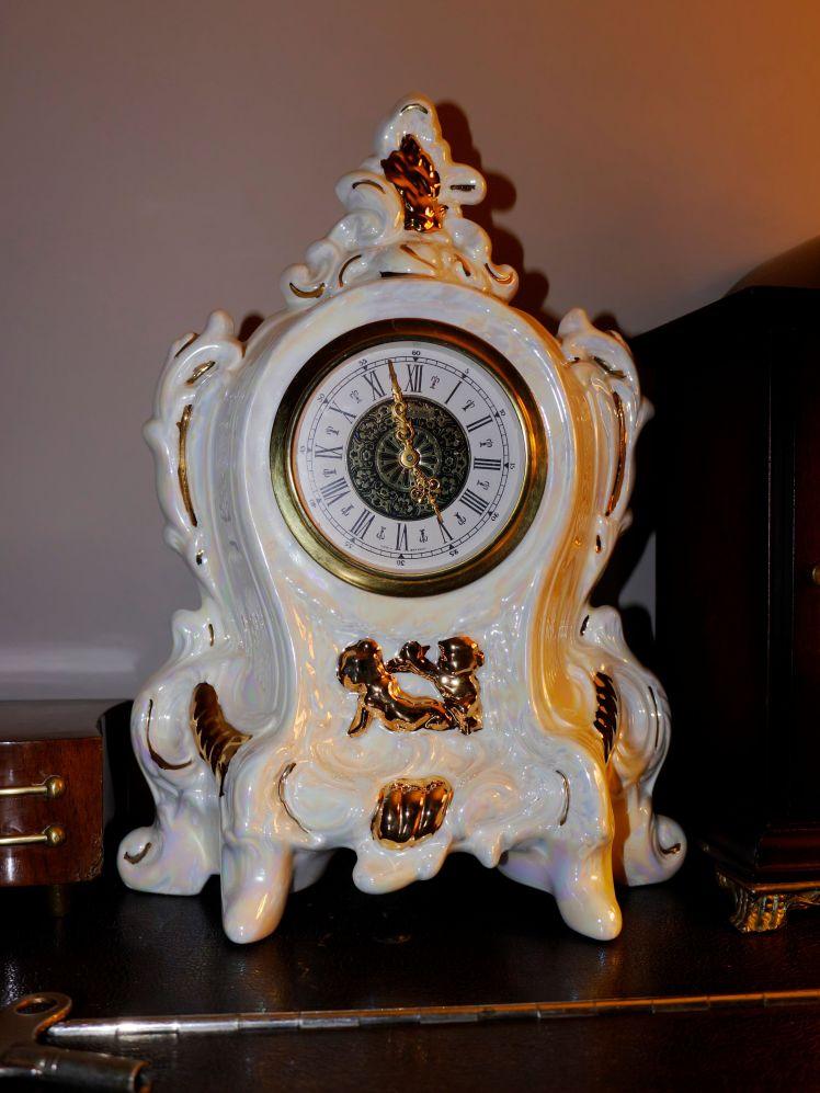 Attractive Porcelain clock