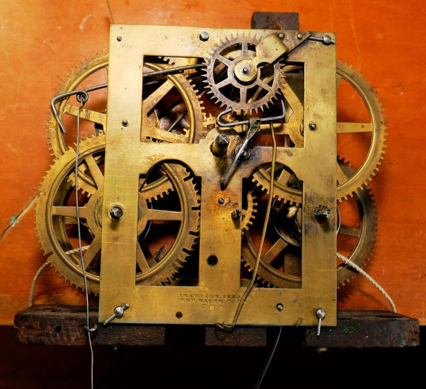 Chauncey Jerome one-day movement type 1.314