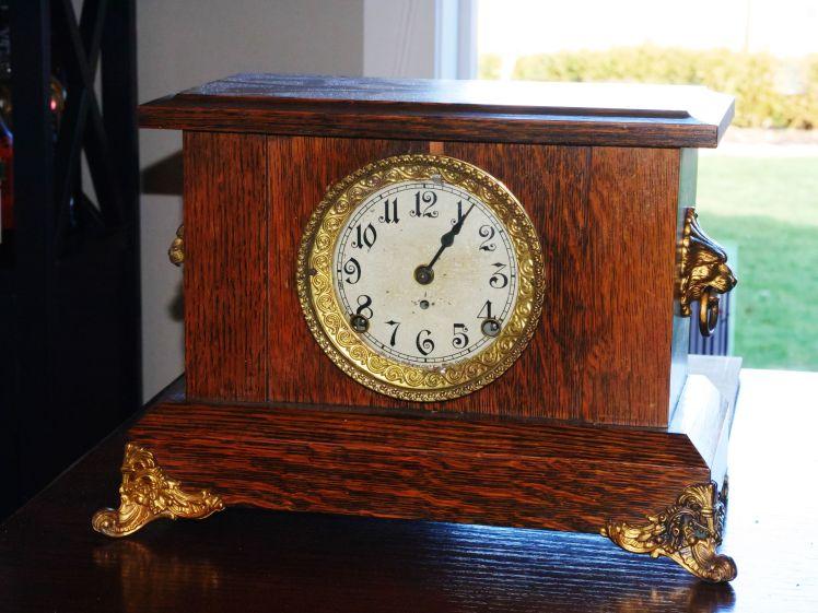 Arthur Pequegnat Simcoe mantel clock