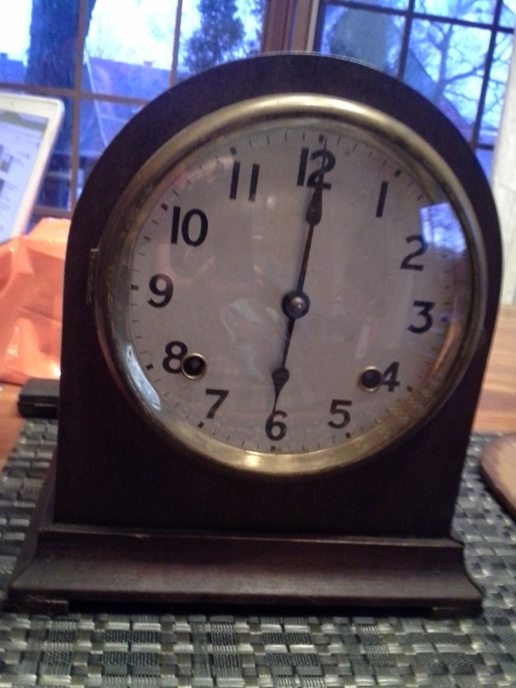 Eddy's photo of the clock