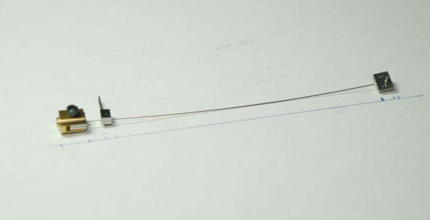 suspension spring installed on a Kern