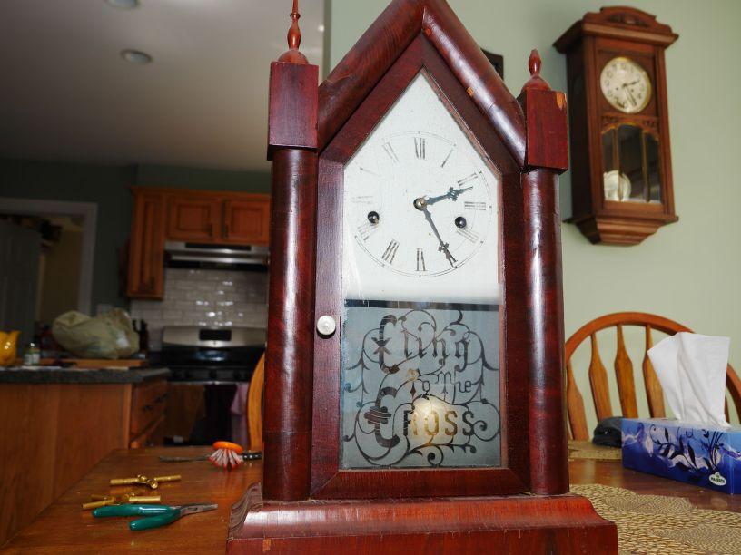Hamilton Clock Co. 30 hour time and strike