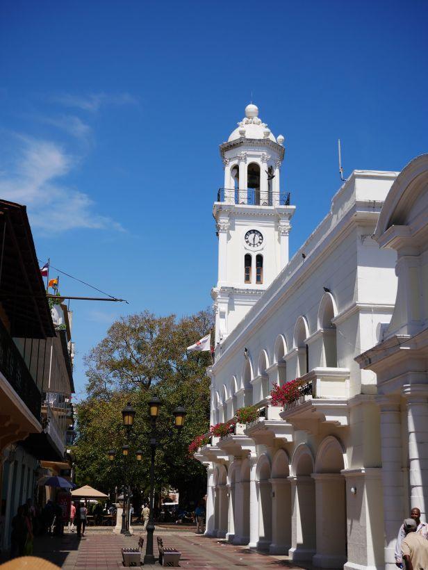 Torre del Reloj, clokc tower, Santo Domingo