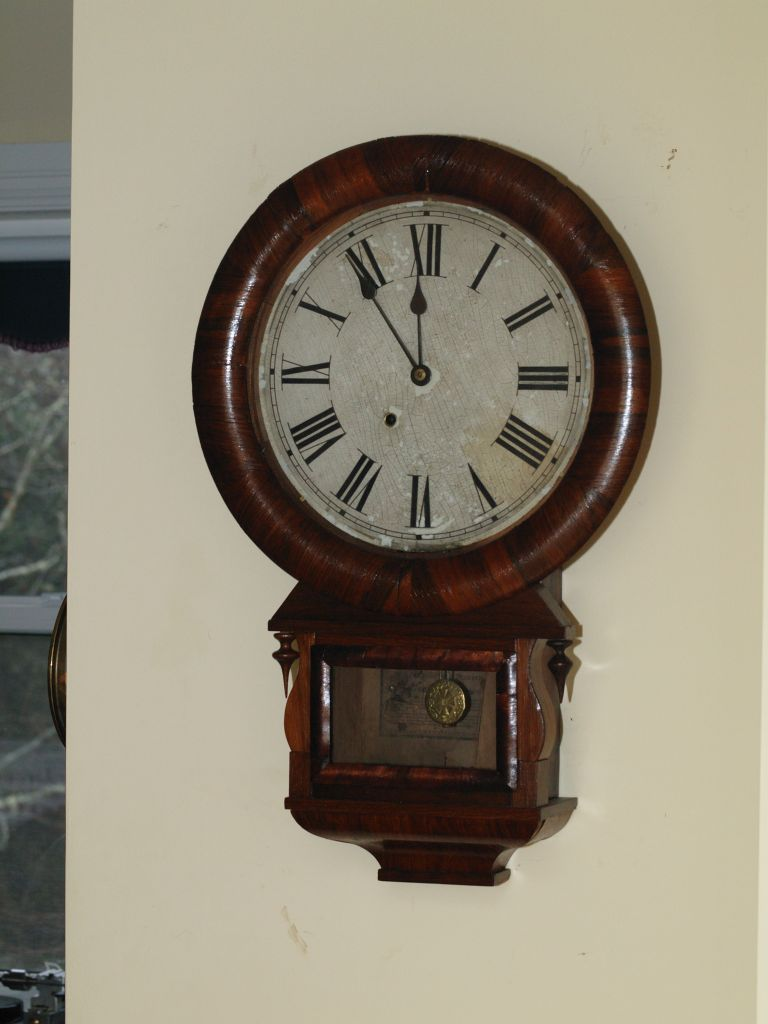 Ansonia Drop Extra wall clock
